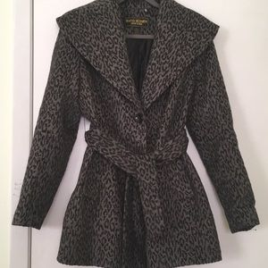 Marvin Richards New York Wool Blend Coat Sz LP